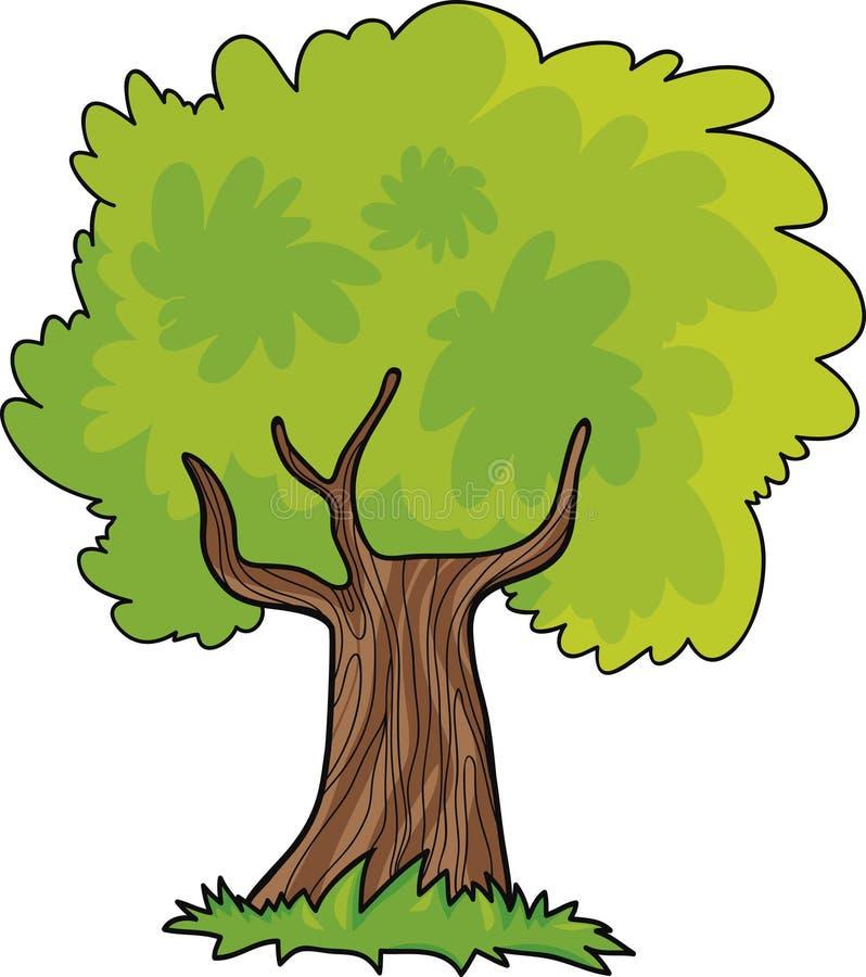 动画片结构树 皇族释放例证