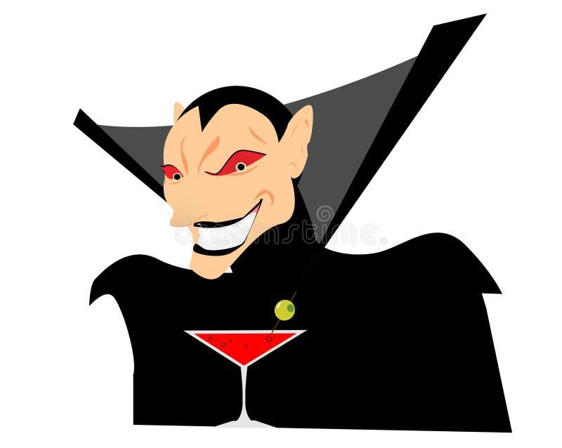 动画片设计吸血鬼向量 皇族释放例证