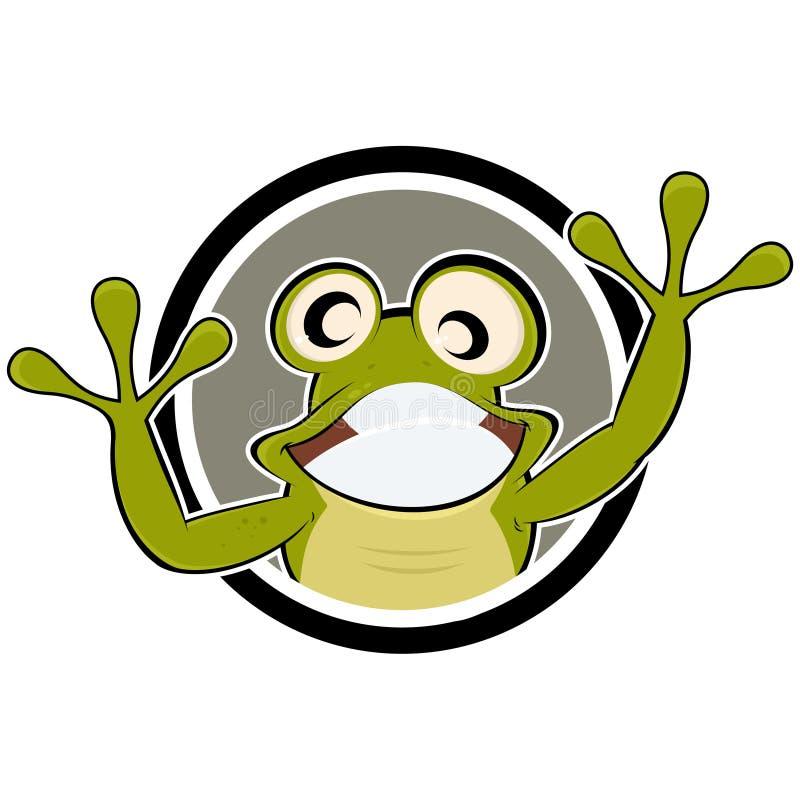 Download 动画片青蛙 向量例证. 插画 包括有 敌意, 图画, 艺术, 幽默, 青蛙, 动画片, 说明, 生物, 艺术性 - 22357506