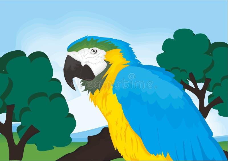 动画片鹦鹉动物 库存照片