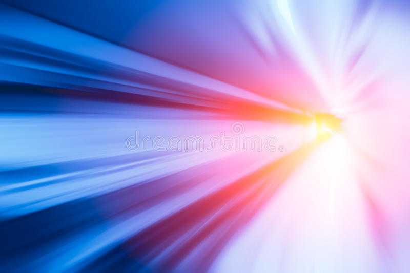 移动的最快速的高速概念,加速度超级快速迅速 免版税图库摄影