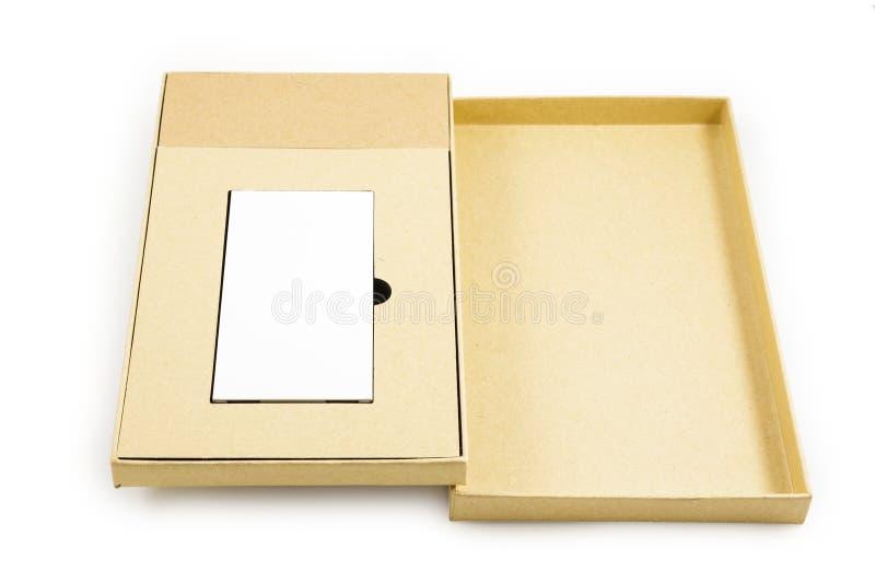 移动的设备 箱子正方形 免版税图库摄影