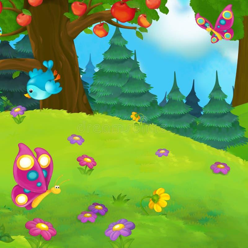 Download 动画片场面 库存例证. 插画 包括有 童话, 童年, 本质, 愉快, 少许, 神仙, 女孩, 逗人喜爱, 寓言 - 59101026
