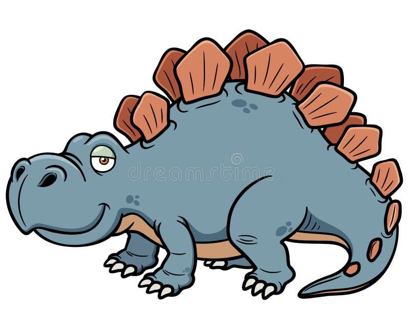 动画片恐龙 皇族释放例证