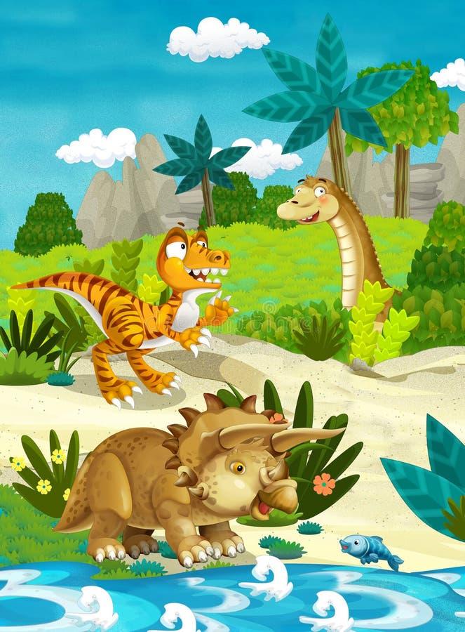 动画片愉快的恐龙图片