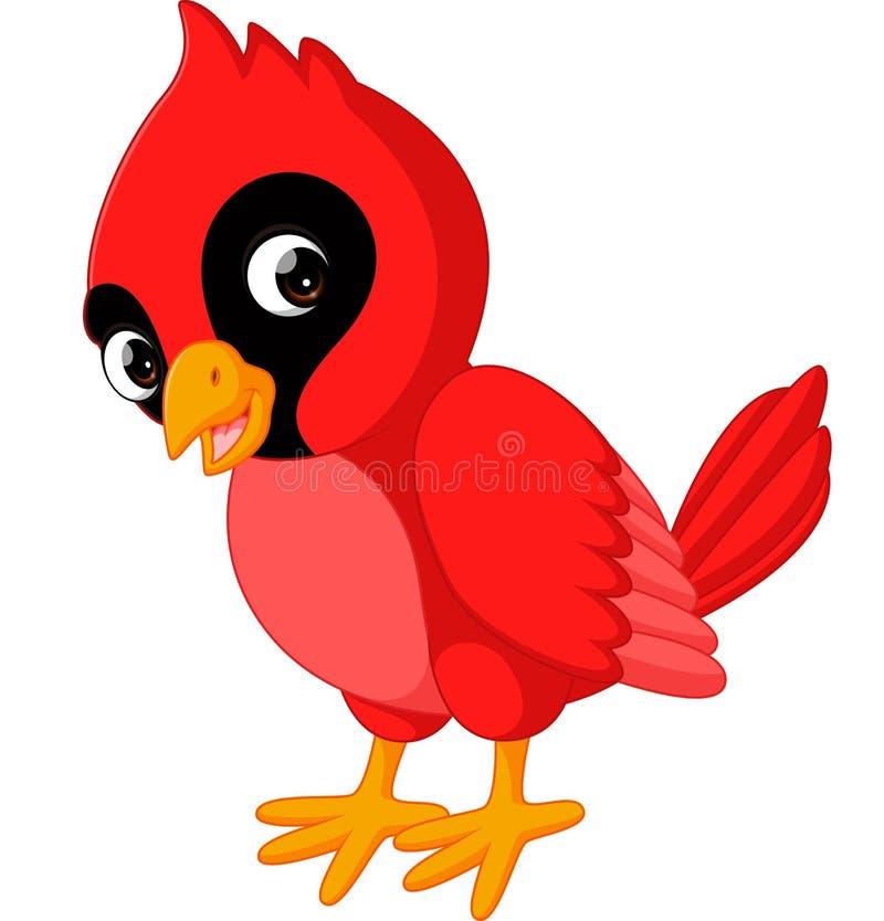 动画片美丽的主要鸟 皇族释放例证