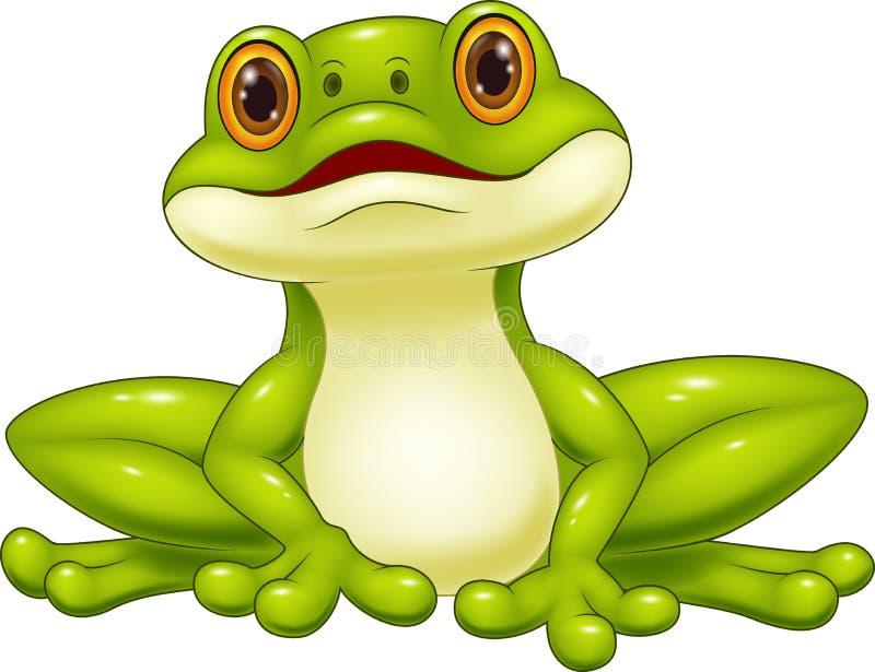 动画片逗人喜爱的青蛙