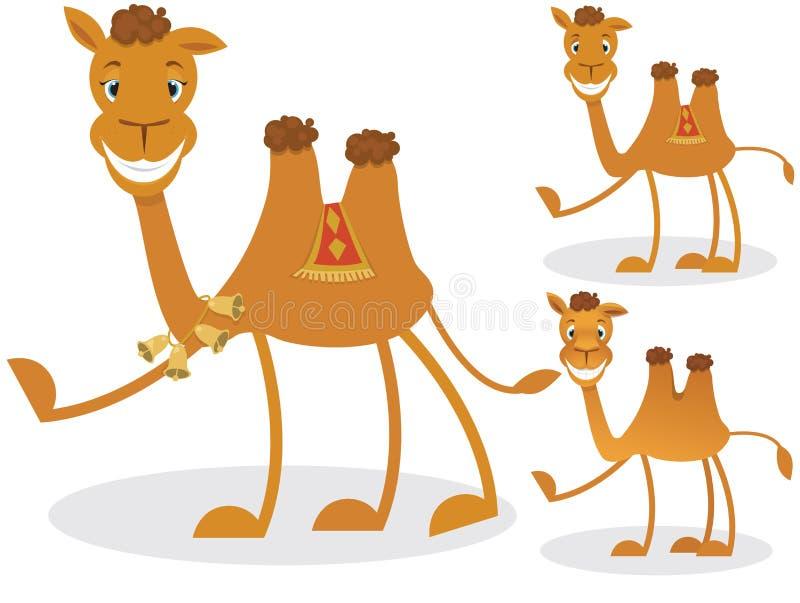 动画片骆驼 皇族释放例证