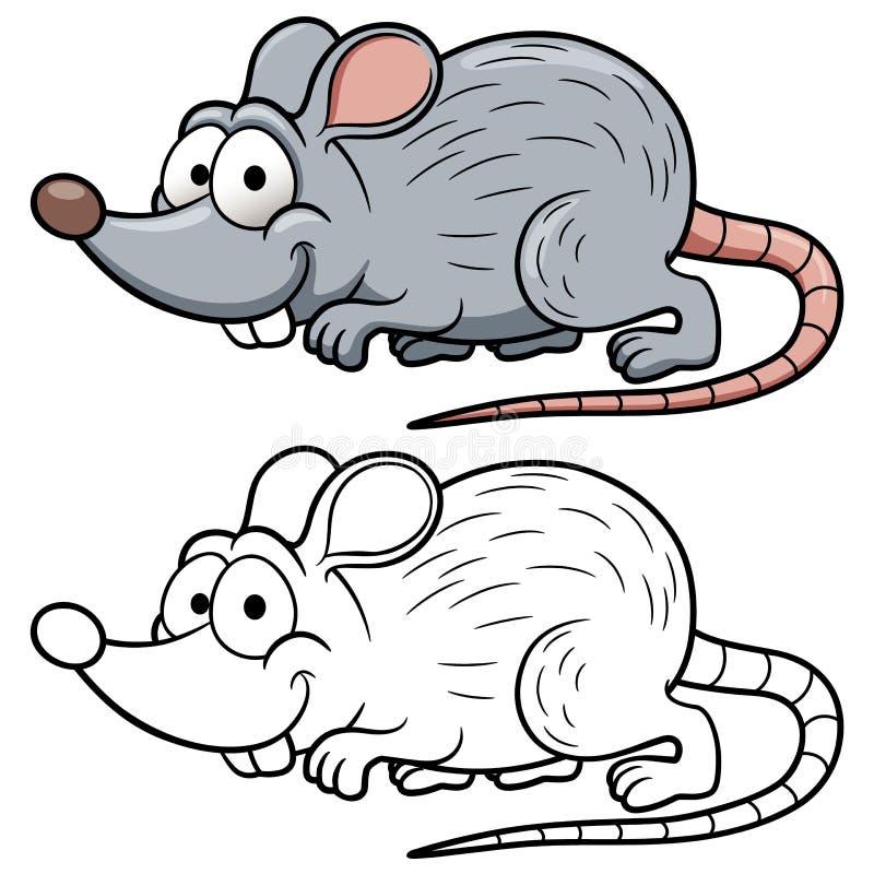动画片鼠 库存例证