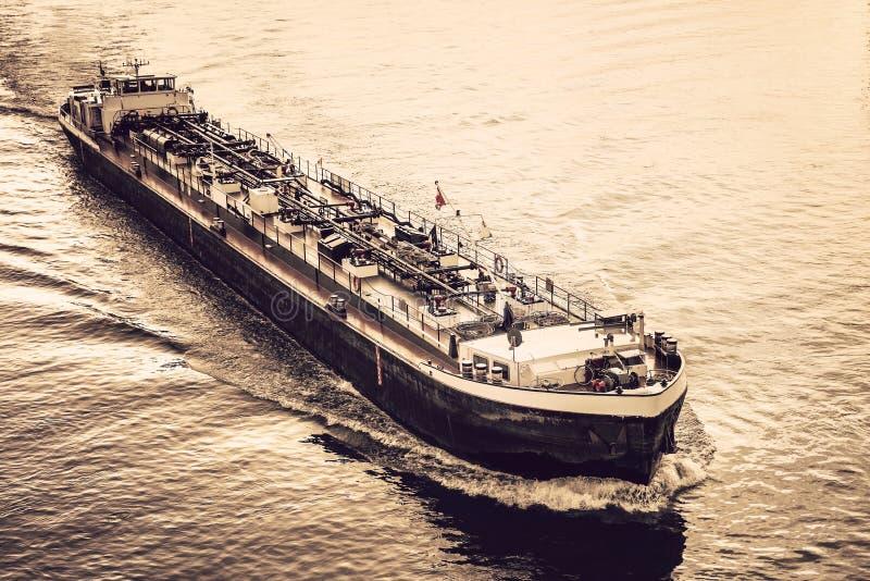 活动货物汉堡端口船 免版税图库摄影