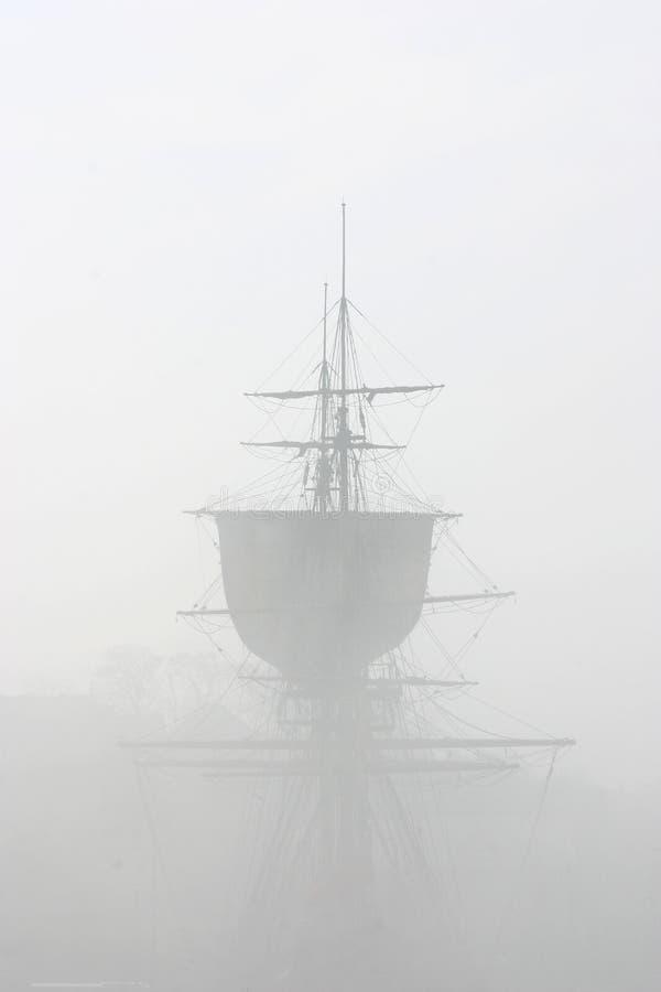 努力薄雾 库存照片