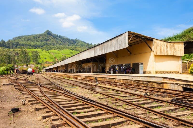 努沃勒埃利耶火车站 免版税库存图片