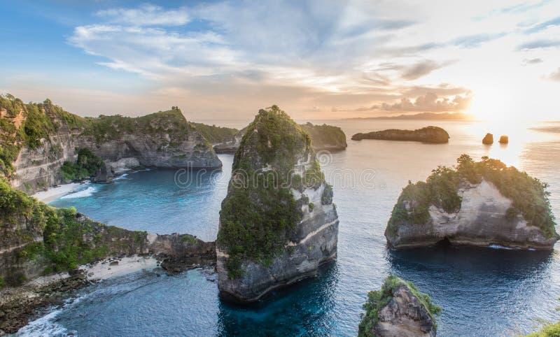 努沙Penida海岛 免版税库存照片