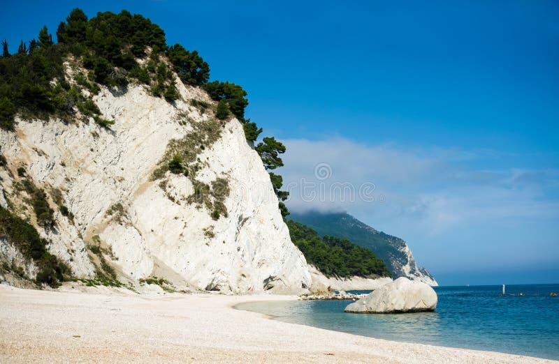 努马纳海滩 免版税库存图片