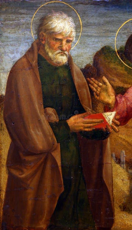 劳伦斯D亚历山德罗:圣约翰传道者 免版税库存照片