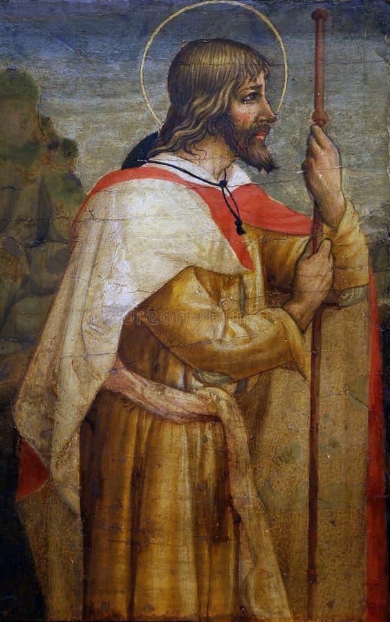 劳伦斯D亚历山德罗:圣詹姆斯传道者 免版税库存图片