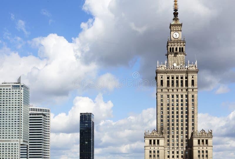 劳动人民文化宫和科学和办公楼 库存图片