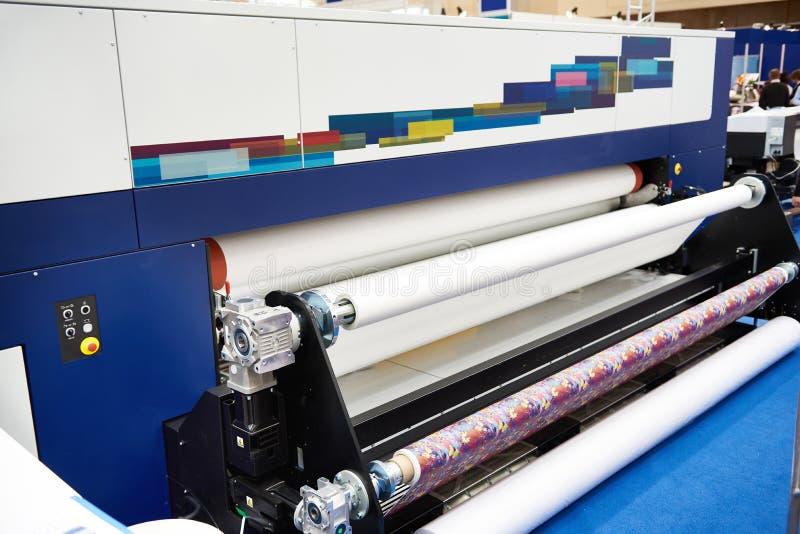 劳斯纸和织品在绘图员 库存照片