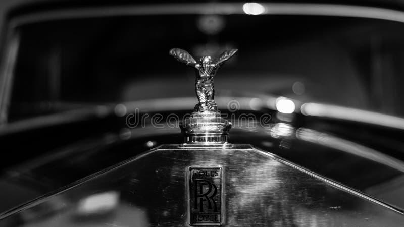 劳斯莱斯老汽车 免版税库存照片