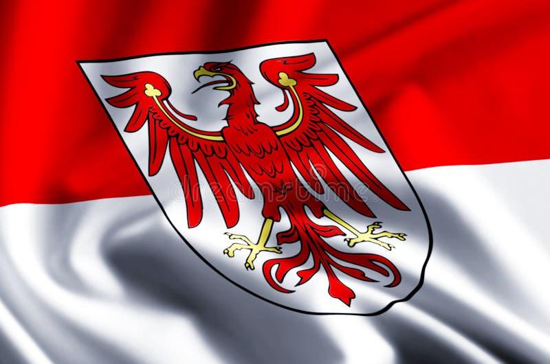 勃兰登堡德国旗子例证 皇族释放例证