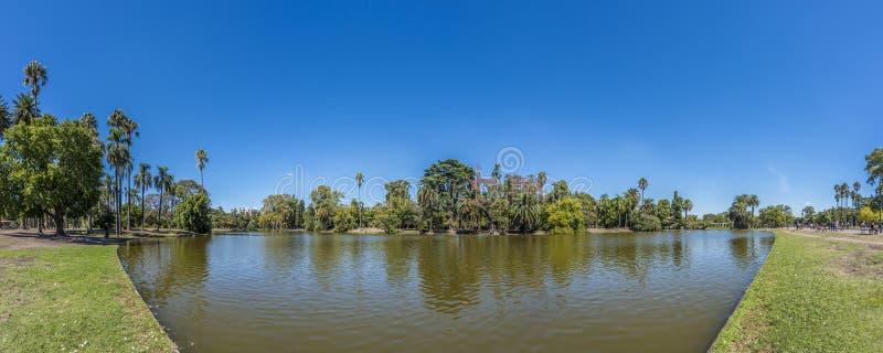 巴勒莫森林在布宜诺斯艾利斯,阿根廷。 免版税库存照片