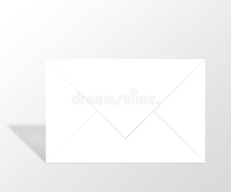 包围邮件消息 皇族释放例证
