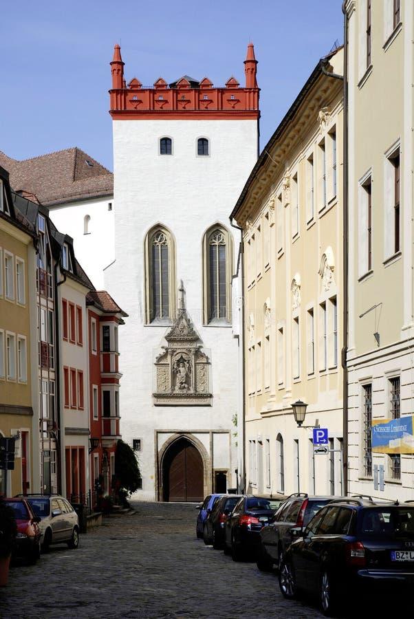 包岑Matthiasturm在德国 免版税图库摄影