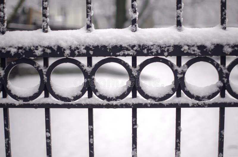 包括的范围雪 库存图片