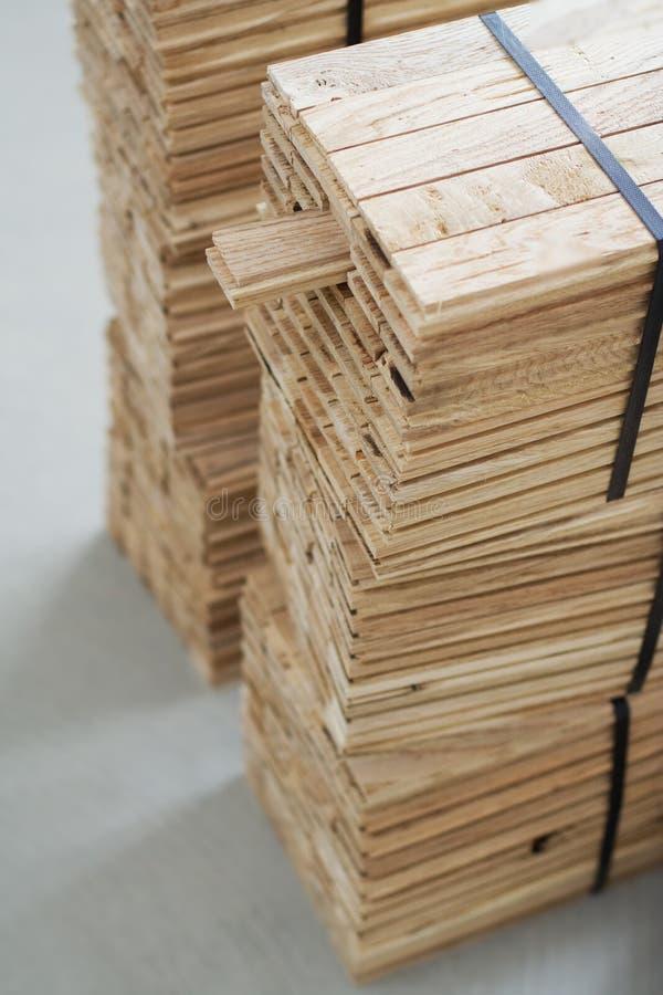 包装木条地板 库存照片