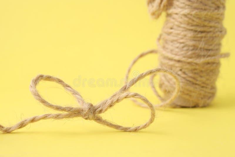 包装的绳索 库存照片