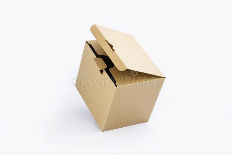 包装纸箱子 免版税库存图片
