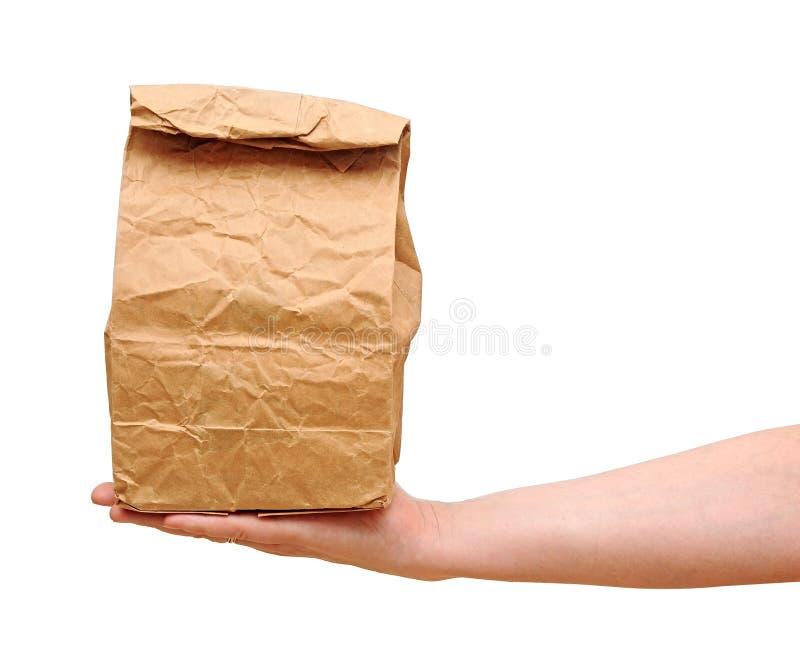 包装纸袋子 库存照片