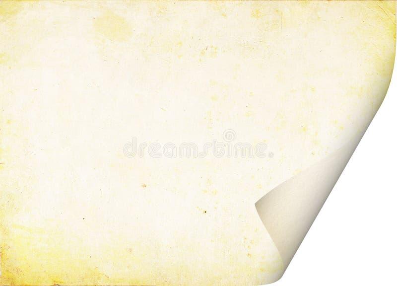 包裹了老纸片 免版税库存图片