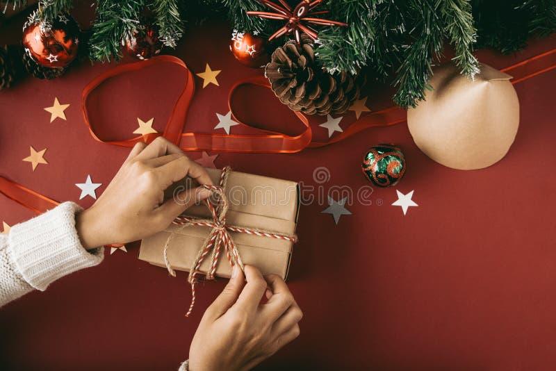 包裹礼物 免版税库存图片