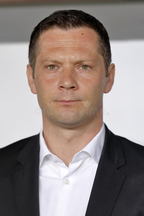 匈牙利与荷兰 希腊UEFA欧元2016年合格者足球比赛 免版税库存照片