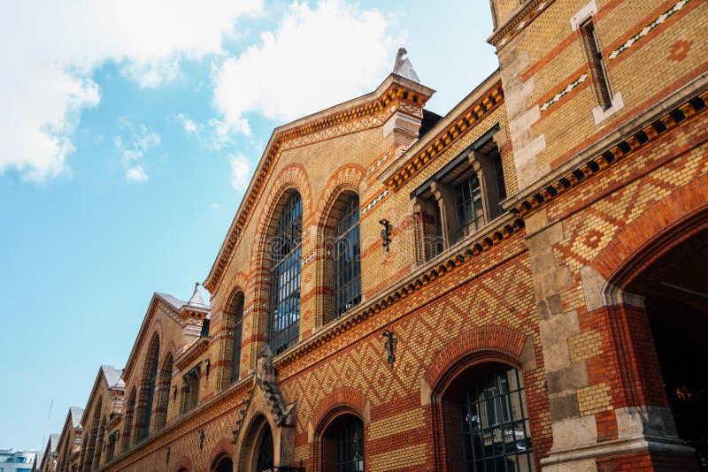 匈牙利布达佩斯大市场 免版税图库摄影