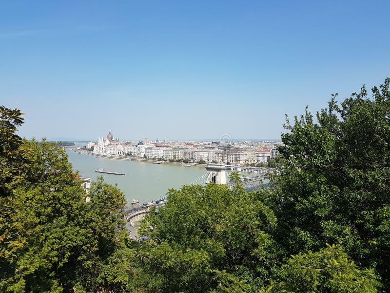 匈牙利布达佩斯的首都 免版税库存图片