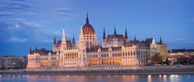 匈牙利议会。 免版税库存图片