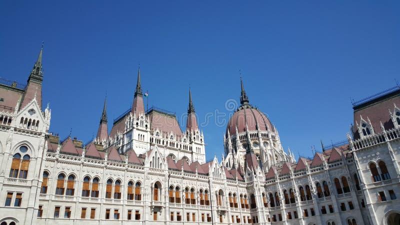 匈牙利议会大厦 库存图片