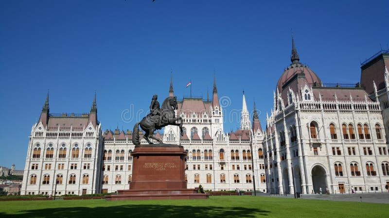 匈牙利议会大厦TravelTelly 库存图片