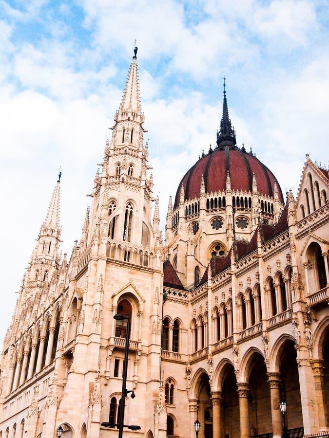匈牙利语Parlament 库存照片
