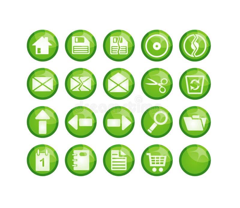 绿化图标 库存照片
