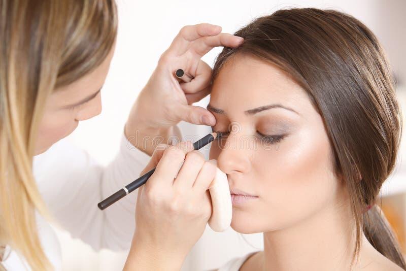 化妆师 免版税库存图片