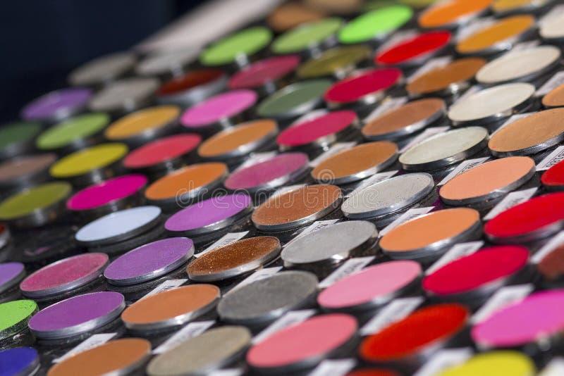 化妆用品商店以产品巨大品种  库存图片