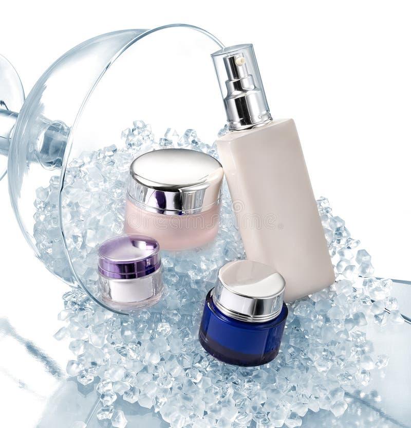 化妆用品容器 免版税图库摄影