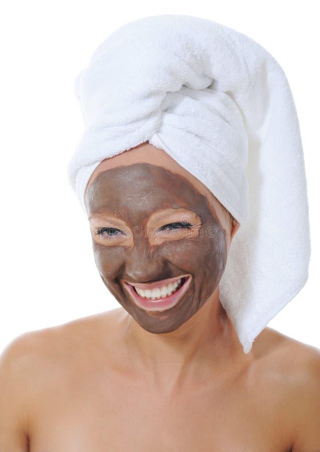 Download 化妆用品屏蔽 库存照片. 图片 包括有 纵向, 健康, 快乐, 脸色, 查出, 表面, 白种人, 面部, 成人 - 22358220