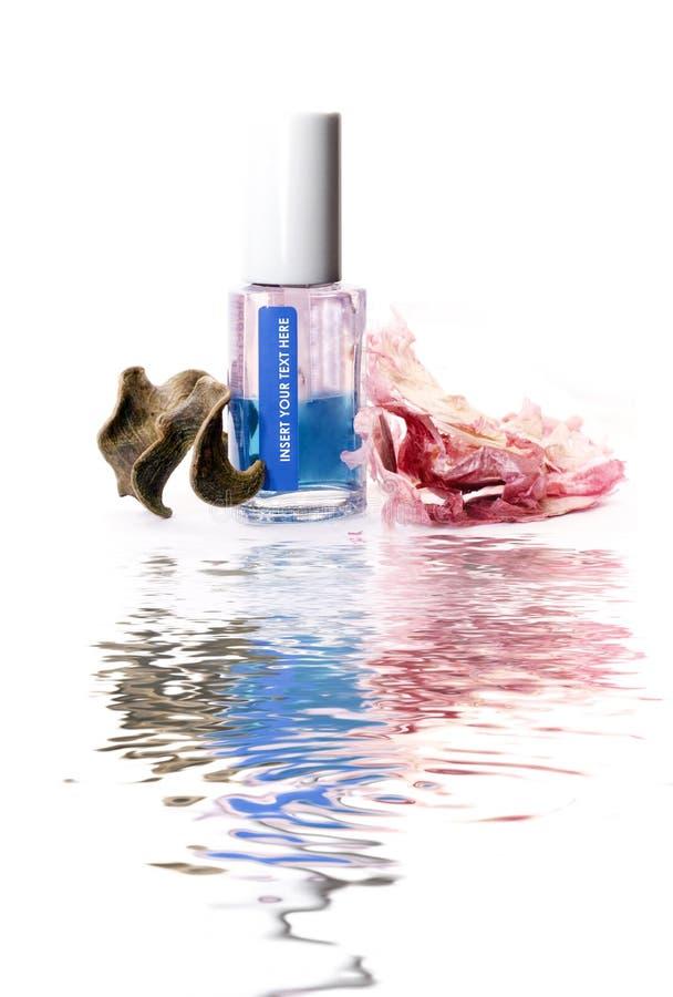化妆用品指甲油 免版税库存图片