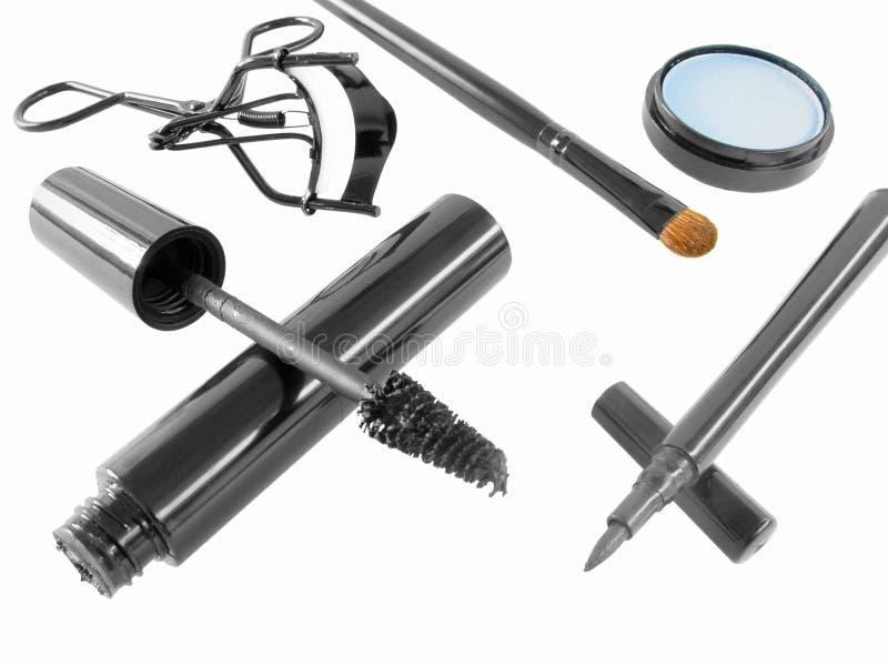 化妆用品眼睛 免版税库存图片