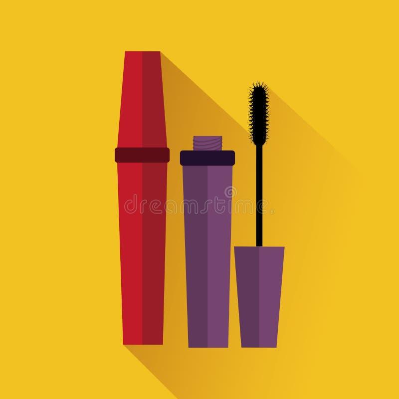 化妆用品设计 库存例证