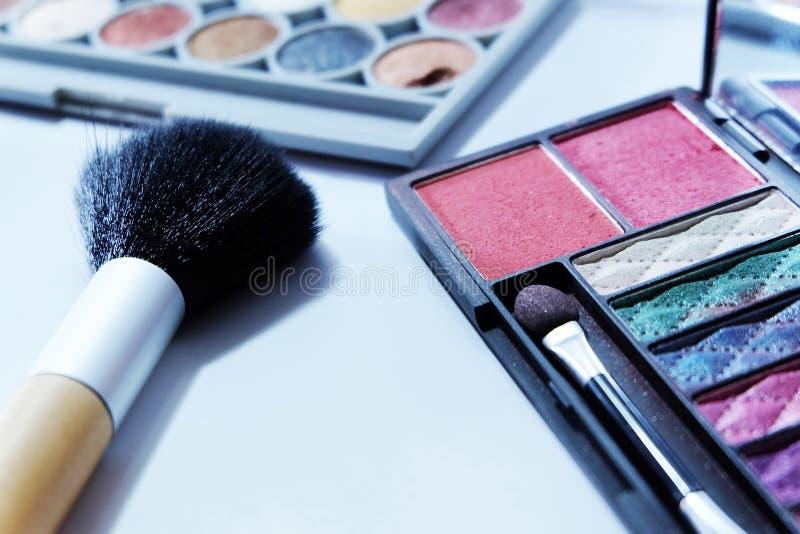 化妆用品集合 免版税库存照片